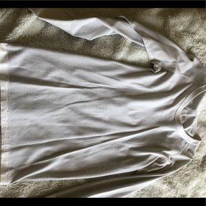 White lululemon swiftly tech long sleeve